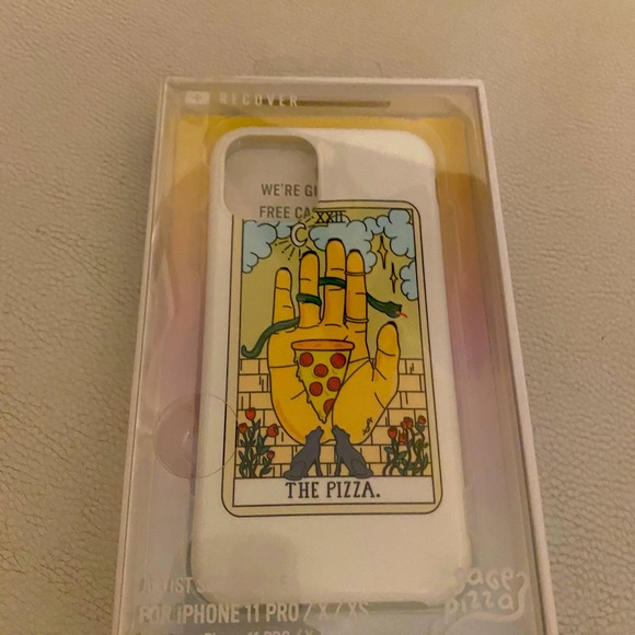 Nordstrom sage iphone 11pro, x/ax pizza phone case